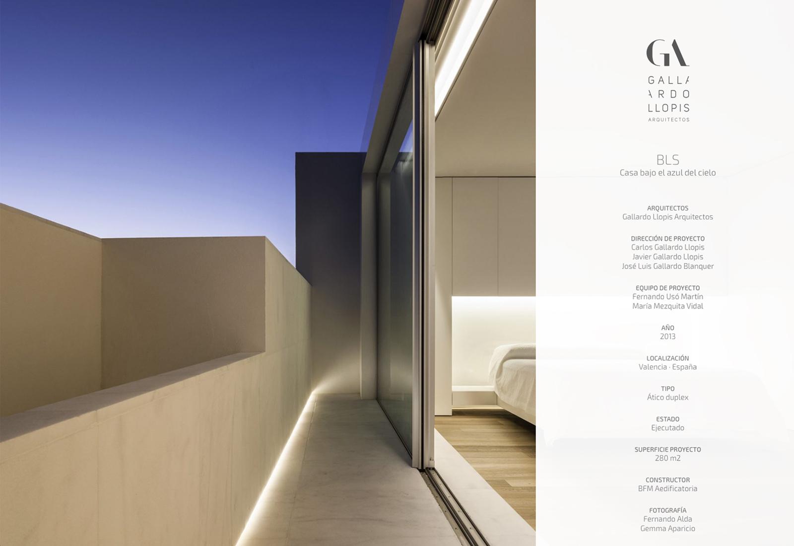 Gallardo Llopis Arquitectos - Diseño y desarrollo web par un estudio de arquitectura en Valencia