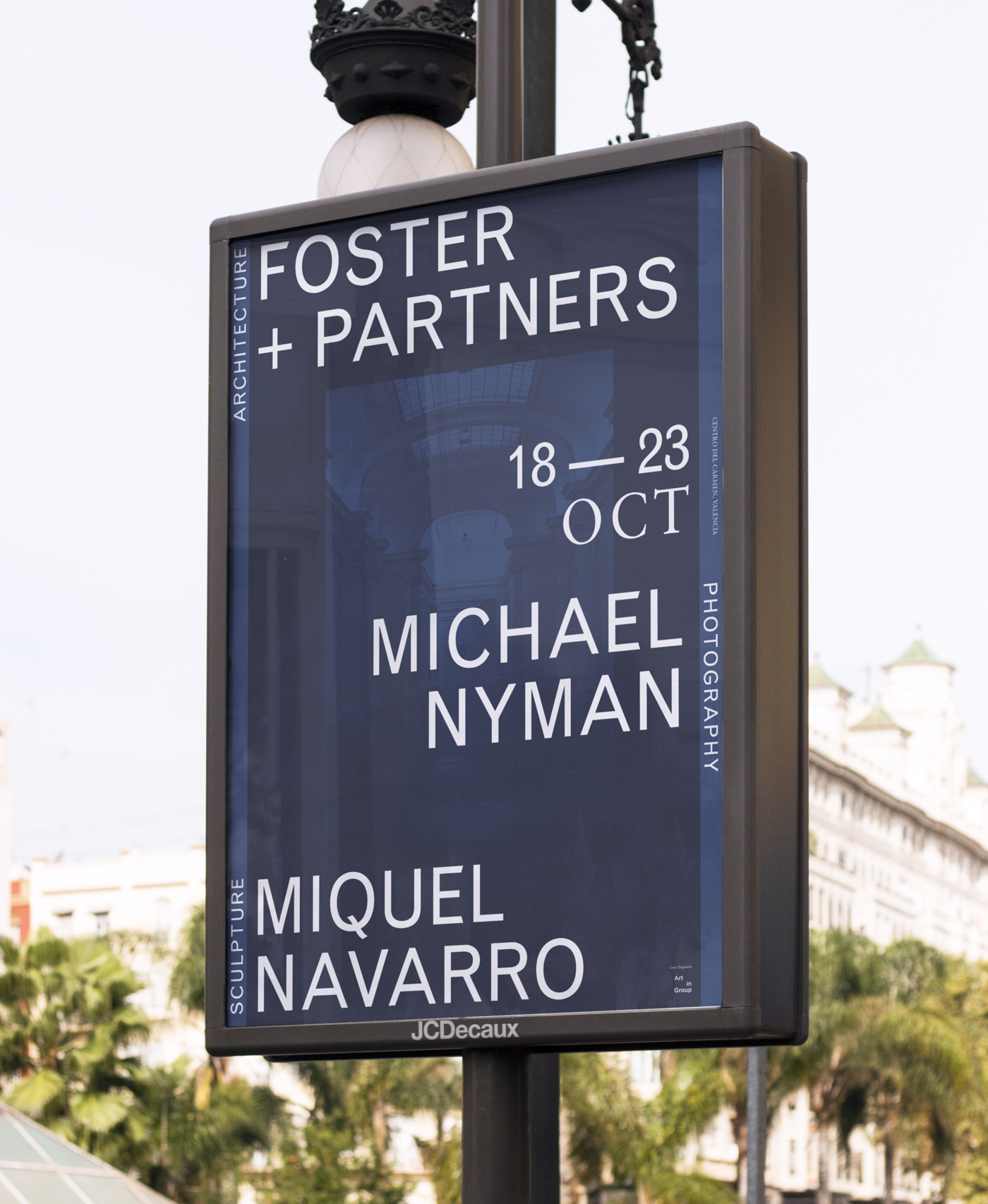 Miradas - Art Exhibition with Foster+Partners, Miguel Navarro and Michael Nyman