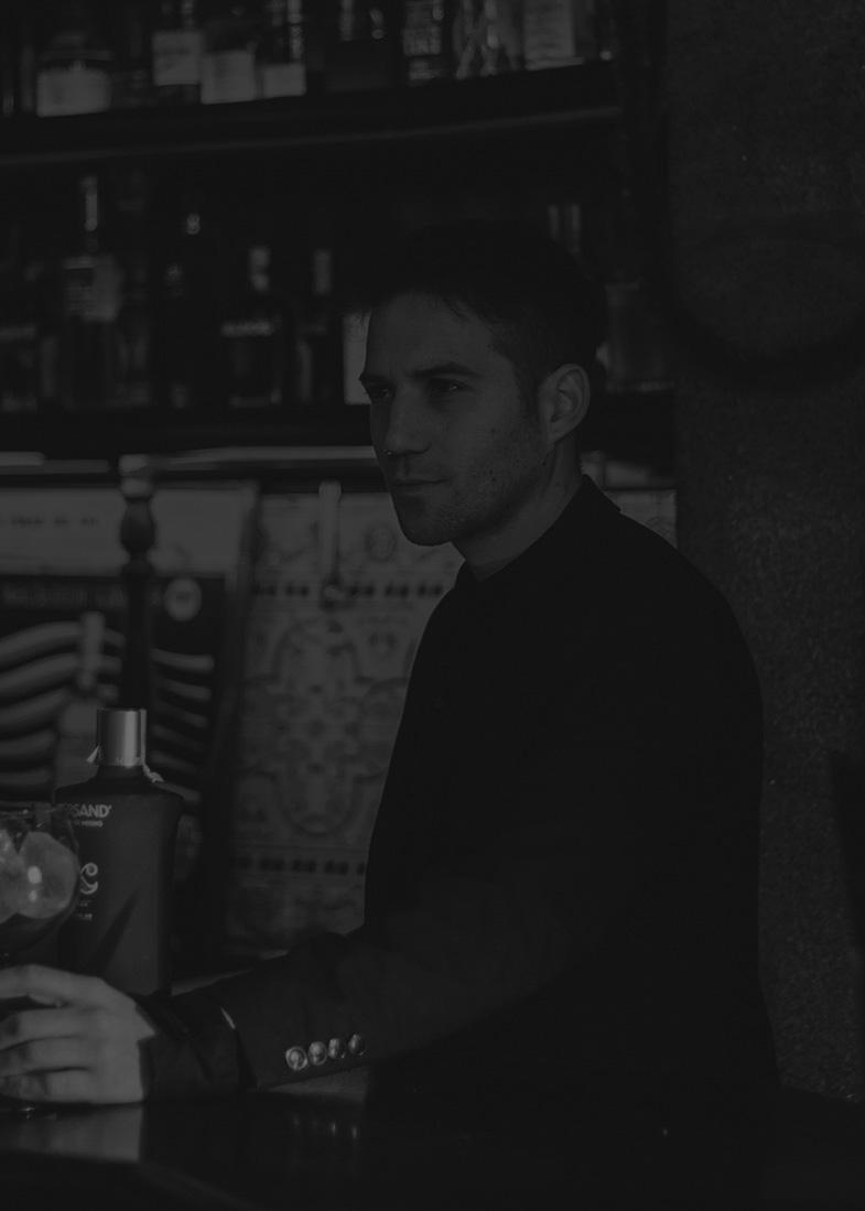 Identidad gráfica para Moonic, bar en Pontevedra